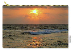 Carry-all Pouch featuring the photograph A Sunset To Remember by Lori Seaman