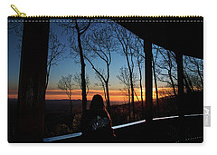 A Sunset View Carry-all Pouch