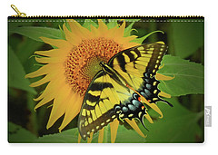 A Swallowtail Butterfly Carry-all Pouch by Scott Cameron