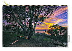 A Swinging Sunset From The Secret Swings Of La Jolla Carry-all Pouch