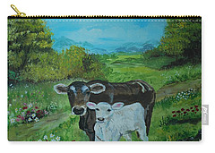 A Tender Love Carry-all Pouch by Leslie Allen