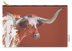A Texas Longhorn Portrait Carry-all Pouch