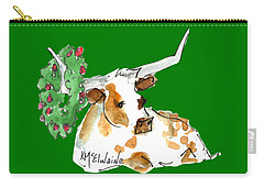 A Texas Welcome Christmas Carry-all Pouch