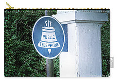 Carry-all Pouch featuring the photograph A Thing Of The Past by Melissa Messick