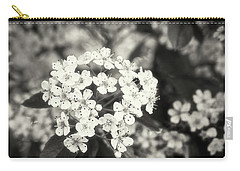 A Thousand Blossoms In Sepia 3x4 Flipped Carry-all Pouch