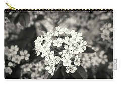A Thousand Blossoms Sepia 3x2 Carry-all Pouch