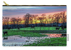A Time For Reflection Carry-all Pouch by Jeffrey Friedkin