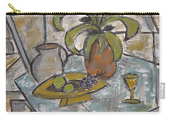 A Toast To Tranquility Carry-all Pouch by Trish Toro
