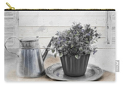 Carry-all Pouch featuring the photograph A Touch Of Color by Robin-Lee Vieira