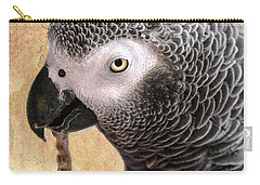 Carry-all Pouch featuring the photograph A Touch Of Grey 11 by Betty LaRue