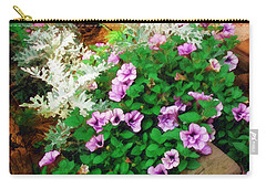 Carry-all Pouch featuring the painting A Touch Of Nature by Sandy MacGowan