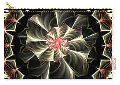 A Touch Of Pink Carry-all Pouch by Lea Wiggins