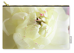 Carry-all Pouch featuring the photograph A Touch Of Pink by Wendy Wilton