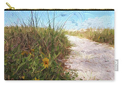 A Trail To The Beach Carry-all Pouch