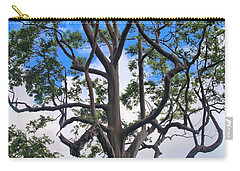Carry-all Pouch featuring the photograph A Tree In Paradise by DJ Florek