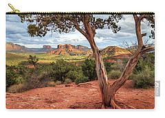 A Tree In Sedona Carry-all Pouch by James Eddy