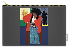 A Tribute To Jean-michel Basquiat Carry-all Pouch