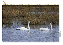 A Trio Of Swans Carry-all Pouch