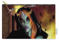 Carry-all Pouch featuring the digital art A Twilight Princess by Baroquen Krafts