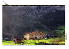 A Typical Basque Country Farmhouse With Sheep Carry-all Pouch