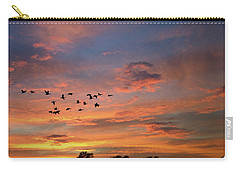 A V Takes Shape At Sunrise Carry-all Pouch