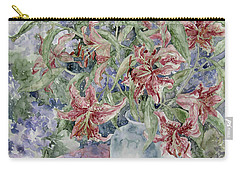 A Vase Of Lilies Carry-all Pouch