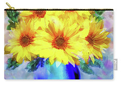 A Vase Of Sunflowers Carry-all Pouch
