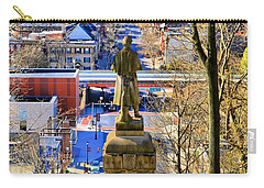 Carry-all Pouch featuring the photograph A View From College Hill by DJ Florek