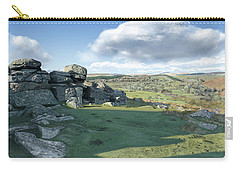 A View From Combestone Tor Carry-all Pouch
