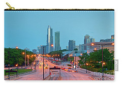 A View Of Columbus Drive In Chicago Carry-all Pouch