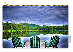 Carry-all Pouch featuring the photograph A View Of Serenity by David Patterson
