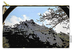 A View Of The Moorish Castle Carry-all Pouch
