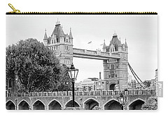 A View Of Tower Bridge Carry-all Pouch