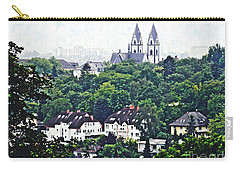 A View Of Wiesbaden Carry-all Pouch by Sarah Loft