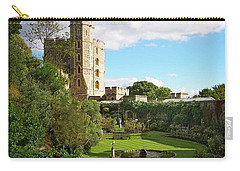 A View Of Windsor Castle Carry-all Pouch
