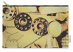 A Vintage Embellishment Carry-all Pouch