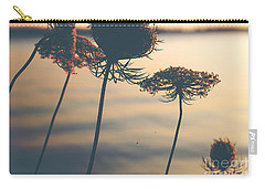 A Vintage Sunset Carry-all Pouch by Rebecca Davis