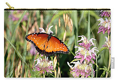 Carry-all Pouch featuring the photograph A Visit From The Queen by Sheila Brown