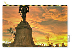 A Vmi Sunset Carry-all Pouch