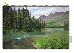 Carry-all Pouch featuring the photograph A Walk In The Forest by Margaret Pitcher