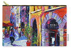 A Walk In The Lyon Old Town Carry-all Pouch