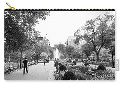 Carry-all Pouch featuring the photograph A Walk In The Park by Ana V Ramirez