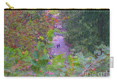 A Walk In The Park Carry-all Pouch by Methune Hively