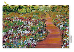A Walk In The Park Carry-all Pouch by Mike Caitham