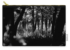 Carry-all Pouch featuring the photograph A Walk In The Woods by Jeremy Lavender Photography