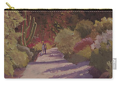 A Walk  On A  Sonoran Desert Road Carry-all Pouch