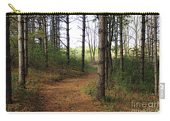 A Walk Through The Pines Carry-all Pouch