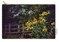 Carry-all Pouch featuring the photograph A Walk With Wildflowers by Jessica Brawley