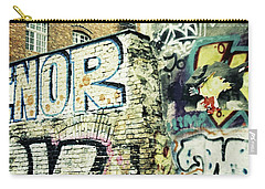 A Wall Of Berlin With Graffiti Carry-all Pouch