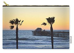 Carry-all Pouch featuring the photograph A Warmer Place To Be by AJ Schibig